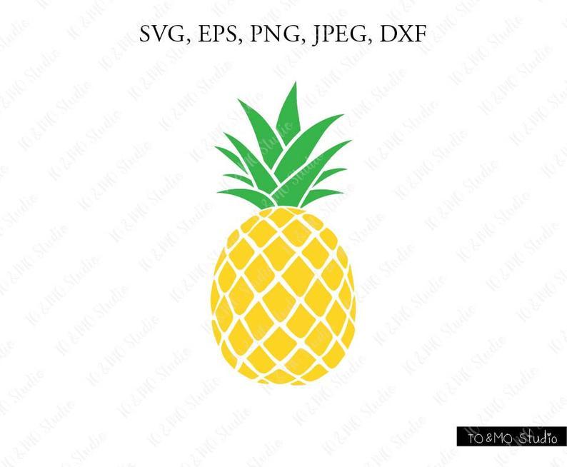 Pineapple clipart pineaplle. Svg print files cricut