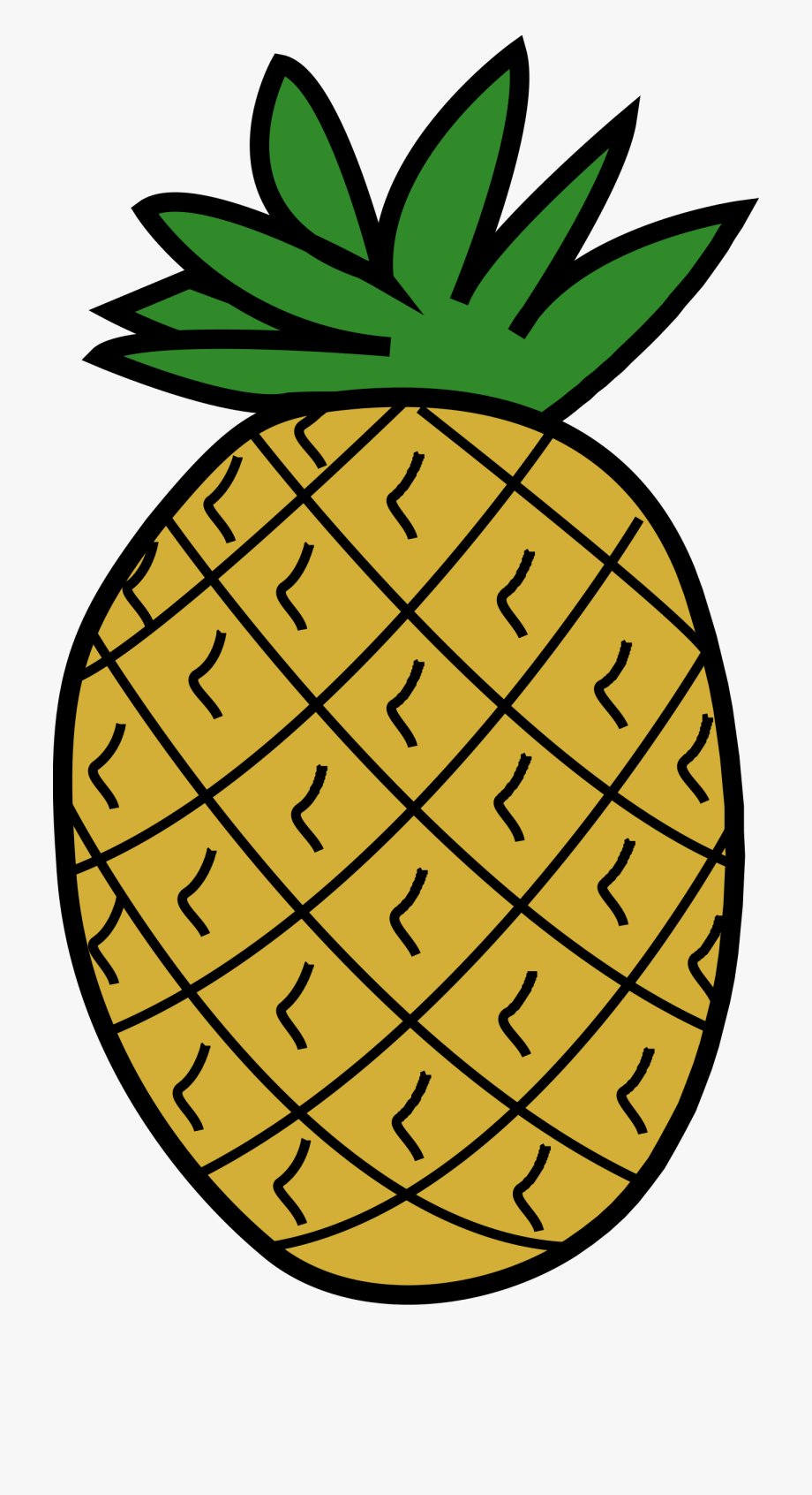 Picture of . Pineapple clipart pineaplle