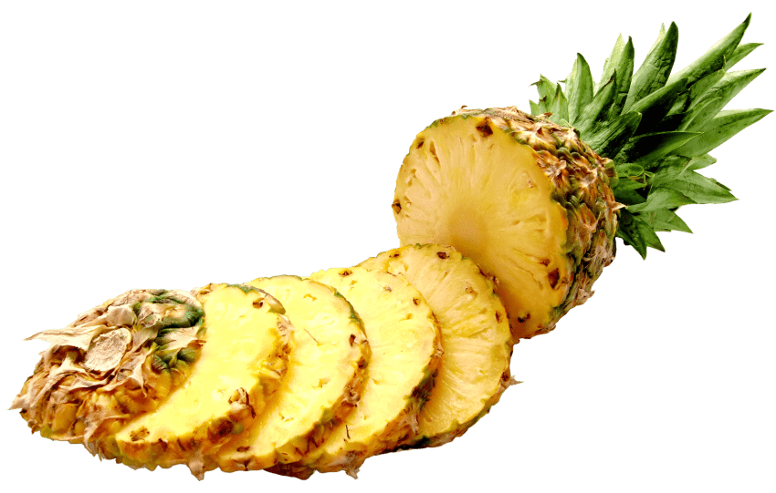 Slices png free images. Pineapple clipart pineapple slice