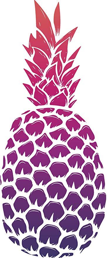 Amazon com cute pretty. Pineapple clipart purple