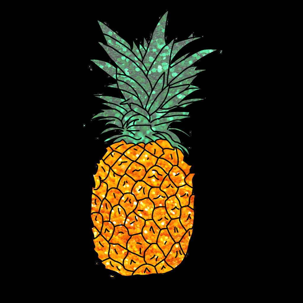 Pineapple Clipart Sticker  Pineapple Sticker Transparent