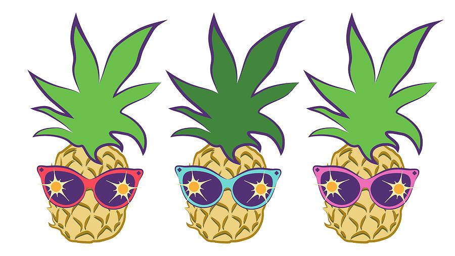 Pineapple clipart summer. Image free download best