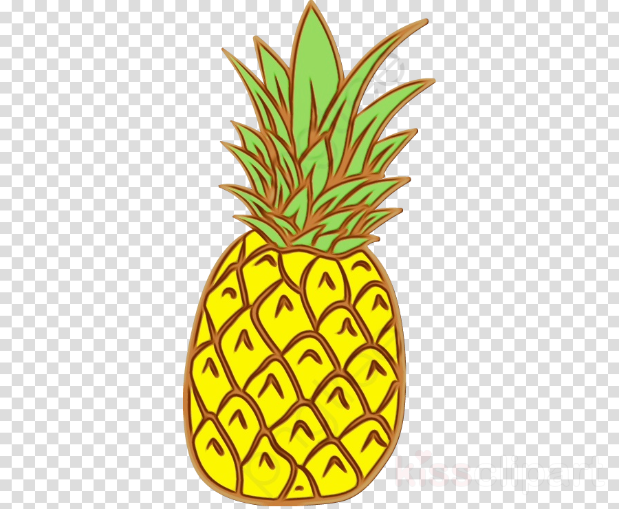 Pineapple clipart transparent. Ananas fruit