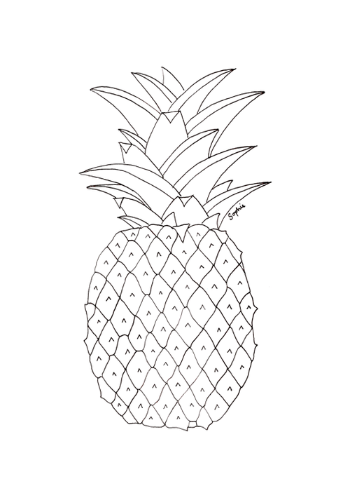 Pineapple clipart tumbler. Made this transparent ananas