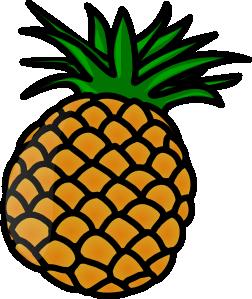 Pineapple clipart vector. Pineaple clip art online