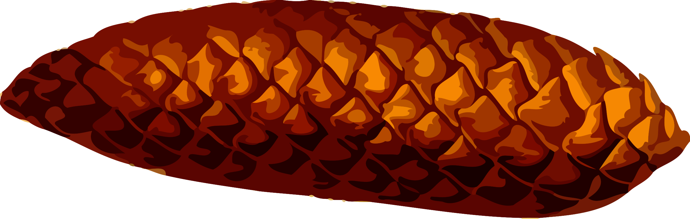 Pinecone clipart svg. Pine cone low resolution