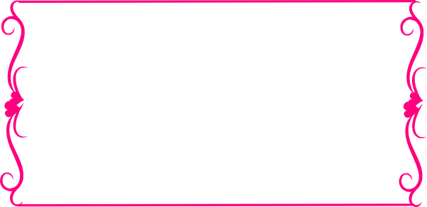 borders graphic library. Pink border png