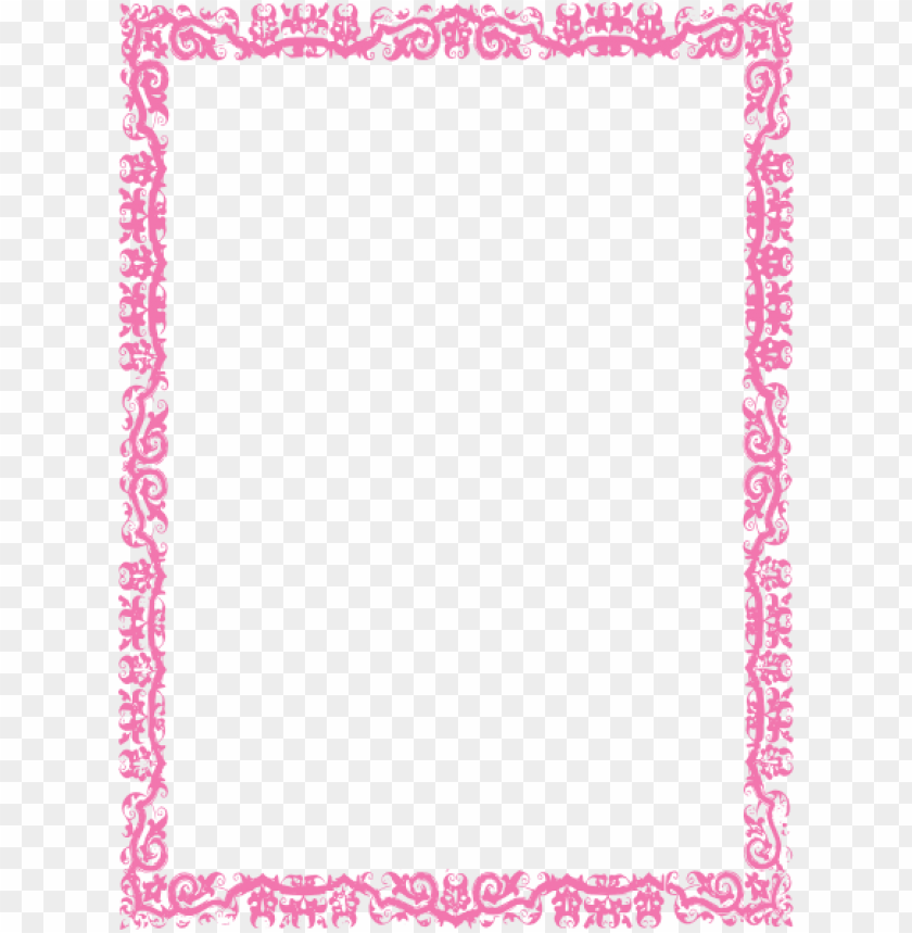 Pink border png. Frame free images toppng