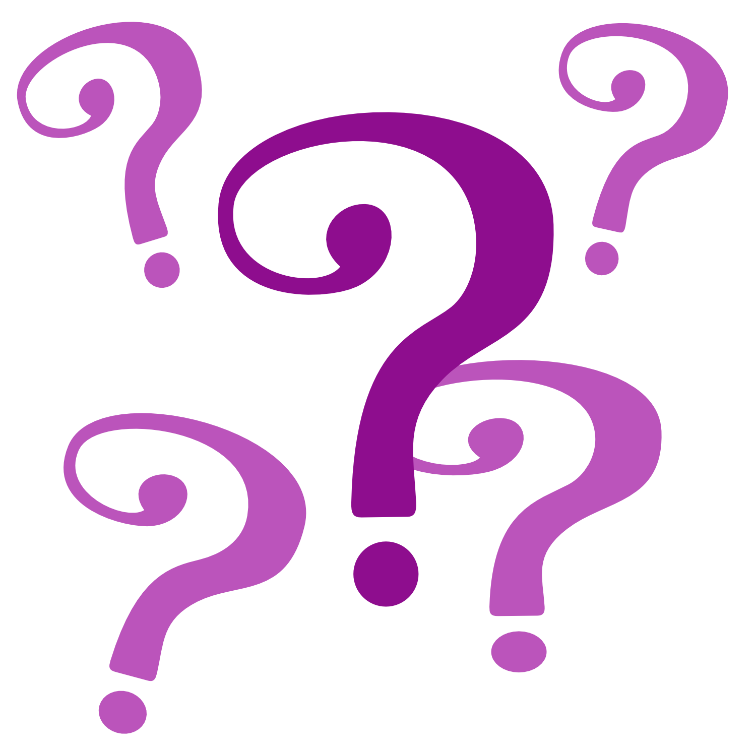 collection of question. Queen clipart mark