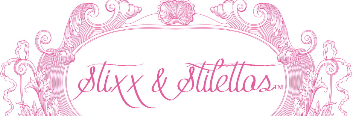 Stixx social networking lady. Pink clipart stilettos