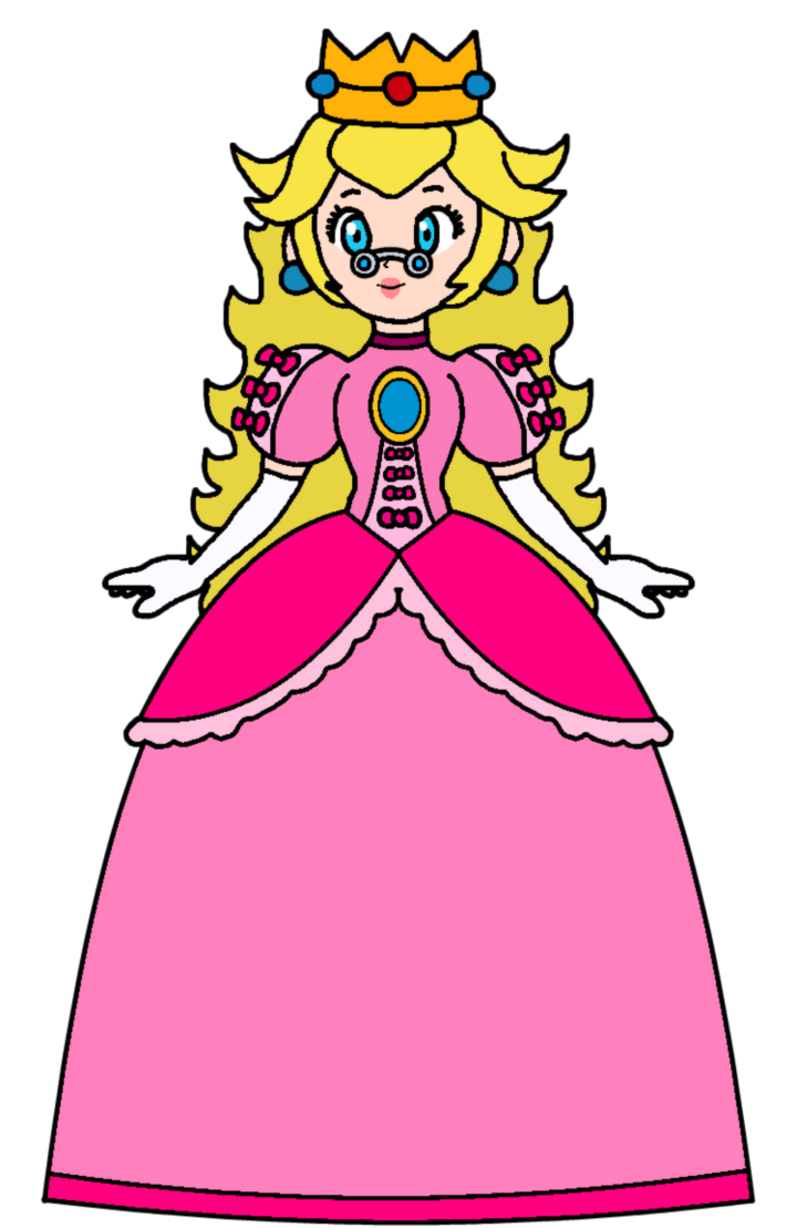 Peach queen apricot by. Pink clipart toadstool