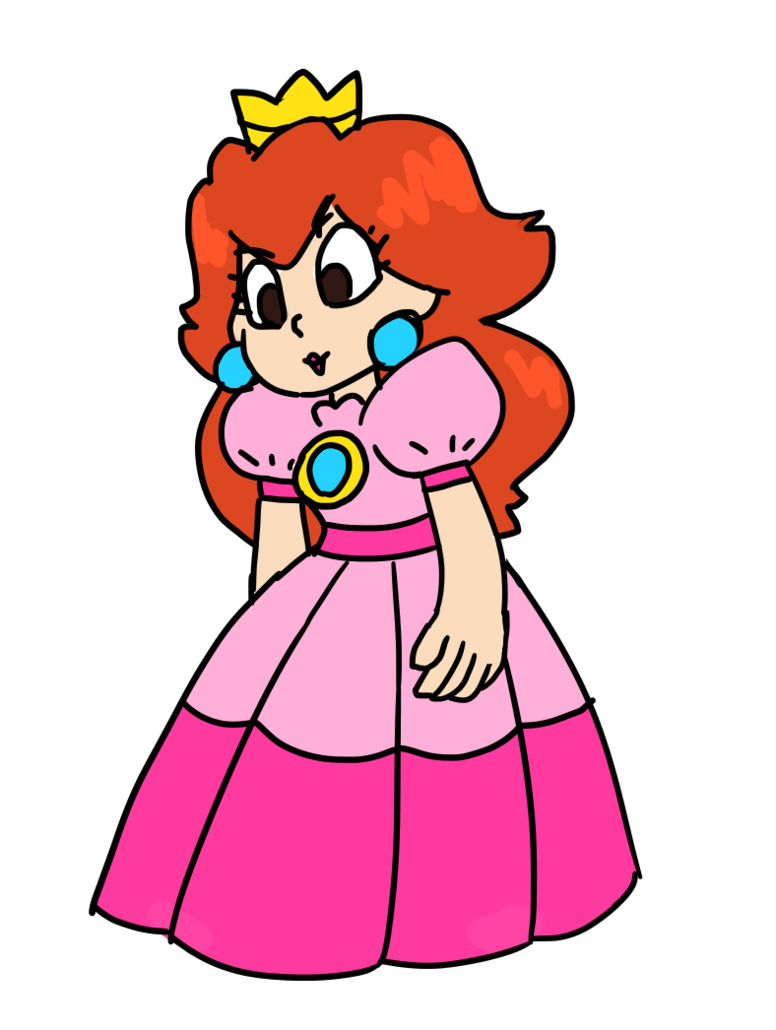 Princess by castlesofcards on. Pink clipart toadstool