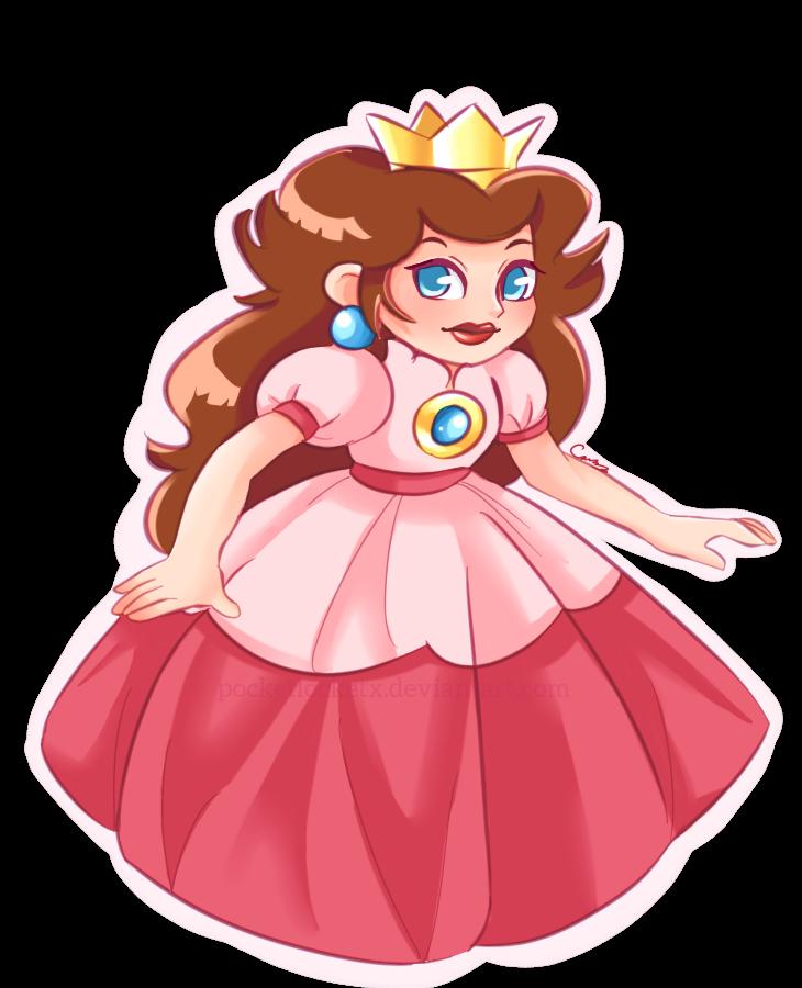 Princess by pocketlocketx on. Pink clipart toadstool