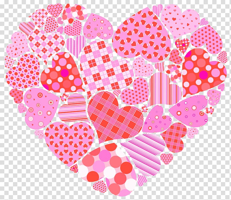 Valentine s heart of. Pink clipart valentines day