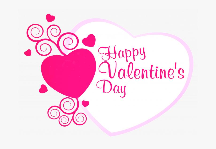 Valentine happy . Pink clipart valentines day