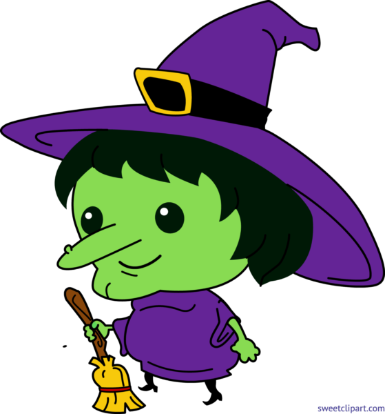 All clip art archives. Witch clipart cartoon