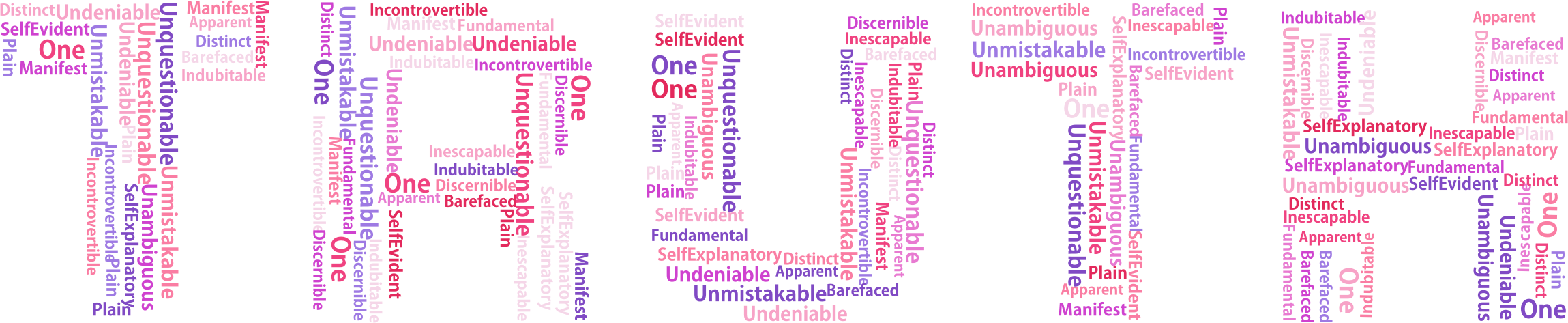 Words clipart pink. Truth word cloud no