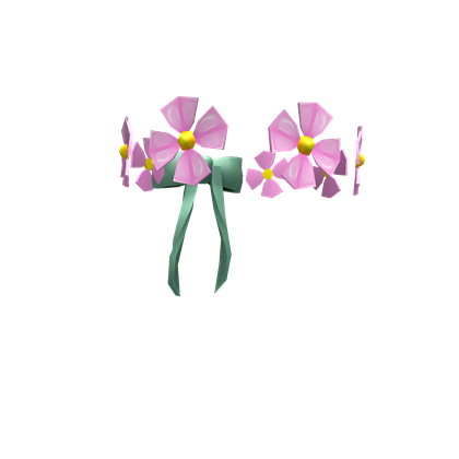 Image roblox wikia fandom. Pink flower crown png
