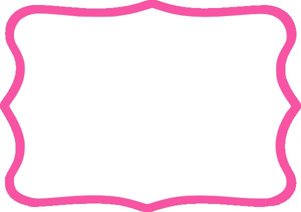 Hot clip art vector. Pink frame png