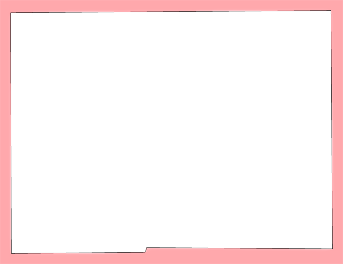 Hardee plain style maps. Pink frame png