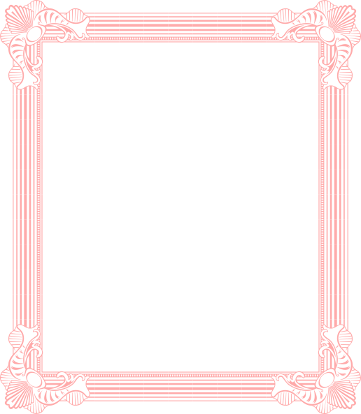 Photo arts. Pink frame png