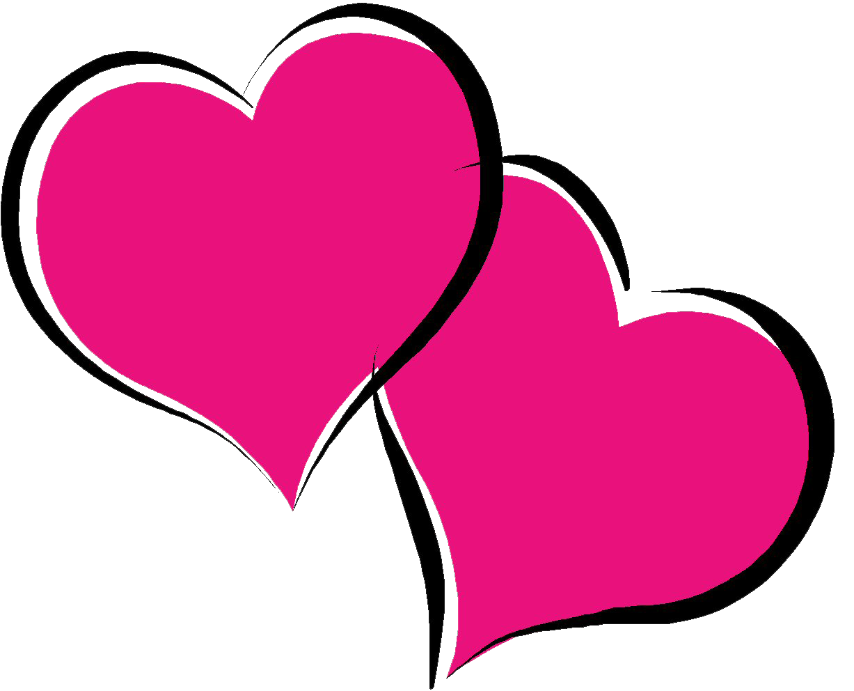 Pink hearts png. Hot heart pic