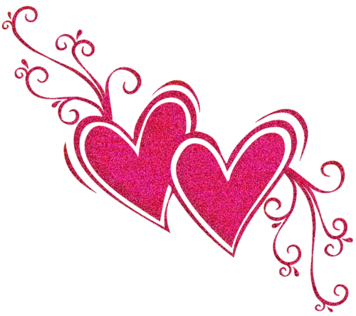 By katuuedits on deviantart. Pink hearts png
