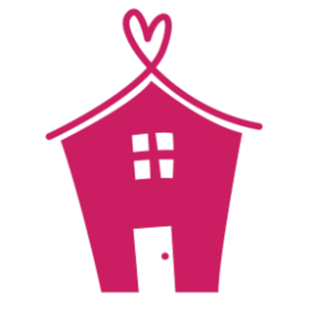 Pink house png. Little houses of hope