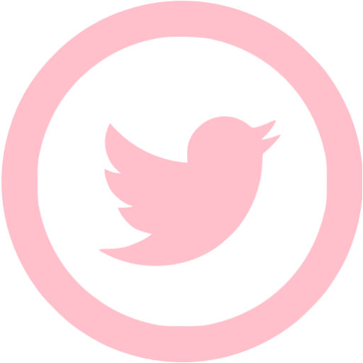 Pink twitter png. Icon free social icons