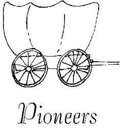 Cart handcart clip art. Pioneer clipart