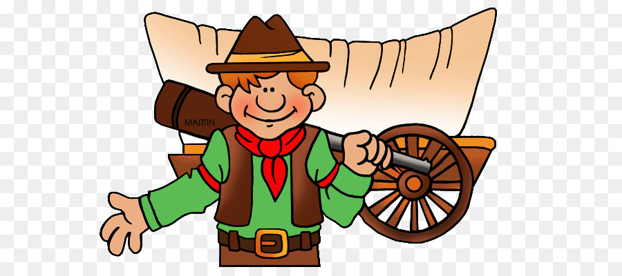 Pioneer clipart. Oregon trail covered wagon