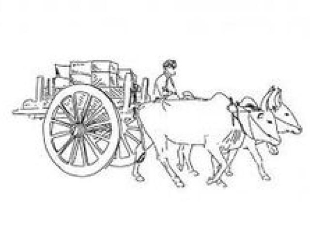 Free download clip art. Pioneer clipart bullock cart