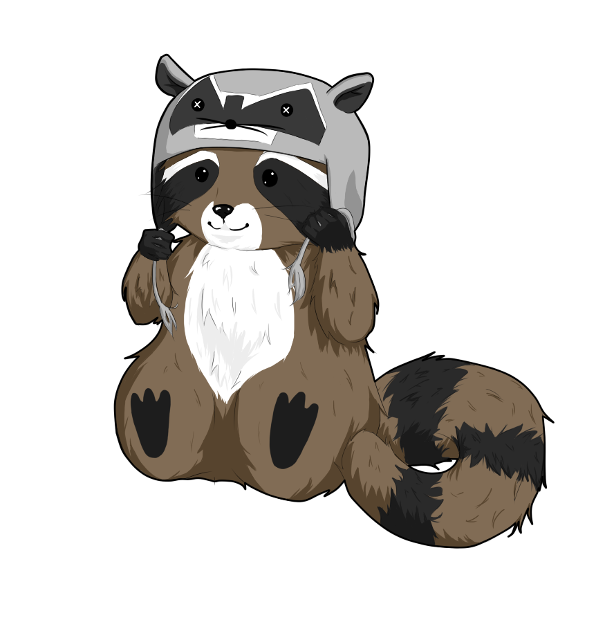 Racoon clipart hat.  collection of raccoon