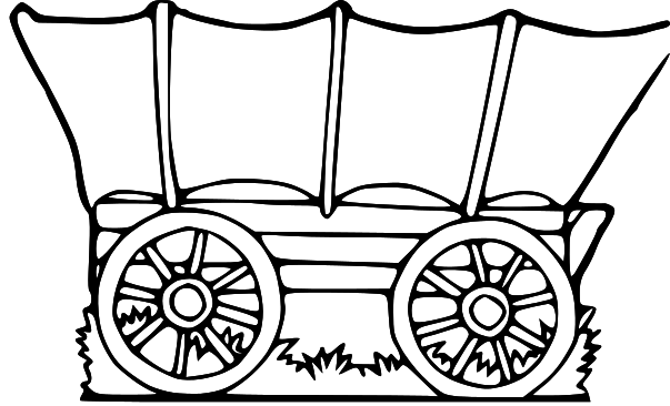 Free pioneer old fashioned. Wagon clipart hand cart