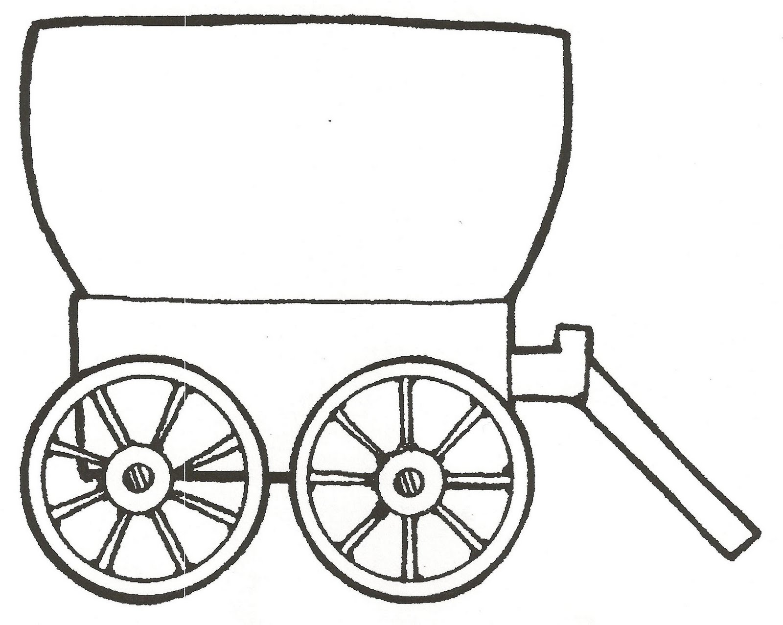 Wagon clipart mormon. Free covered cliparts download