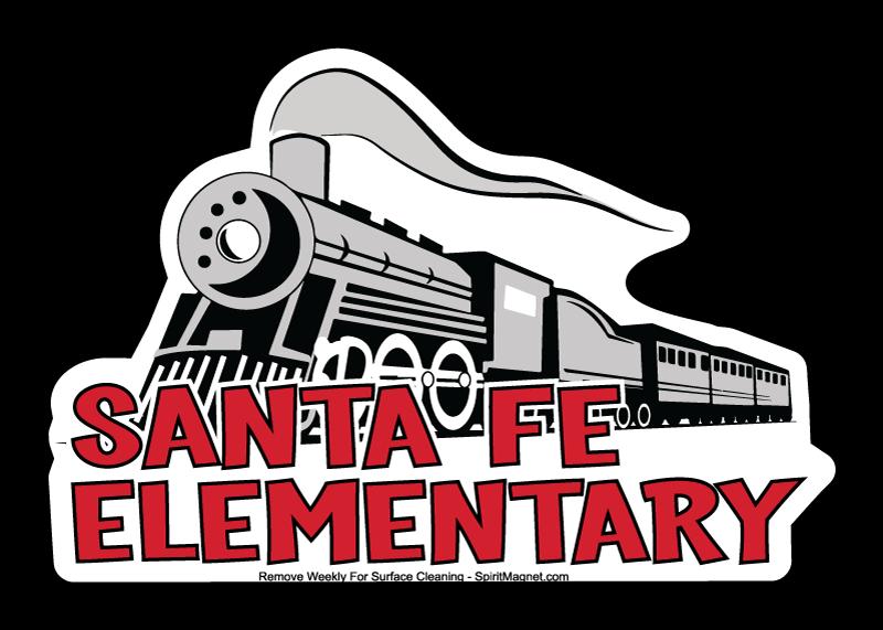 Magnet designs for school. Pioneer clipart santa fe trail
