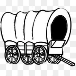 Wagon clipart wagon oregon trail. Pioneer png free transparent