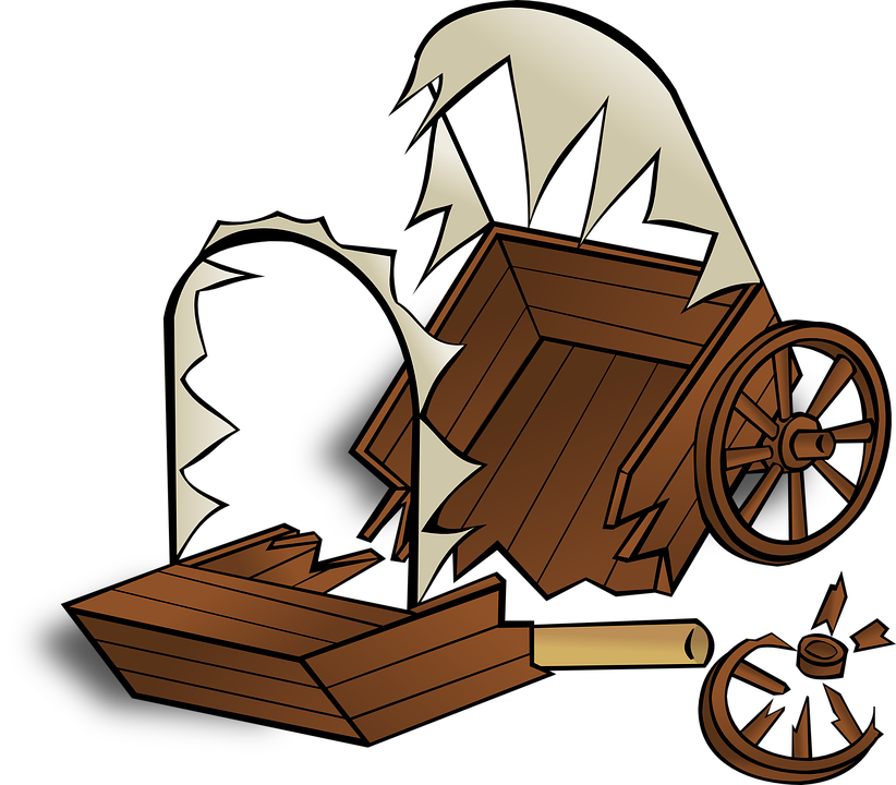 Wagon clipart caravan. Covered free download best