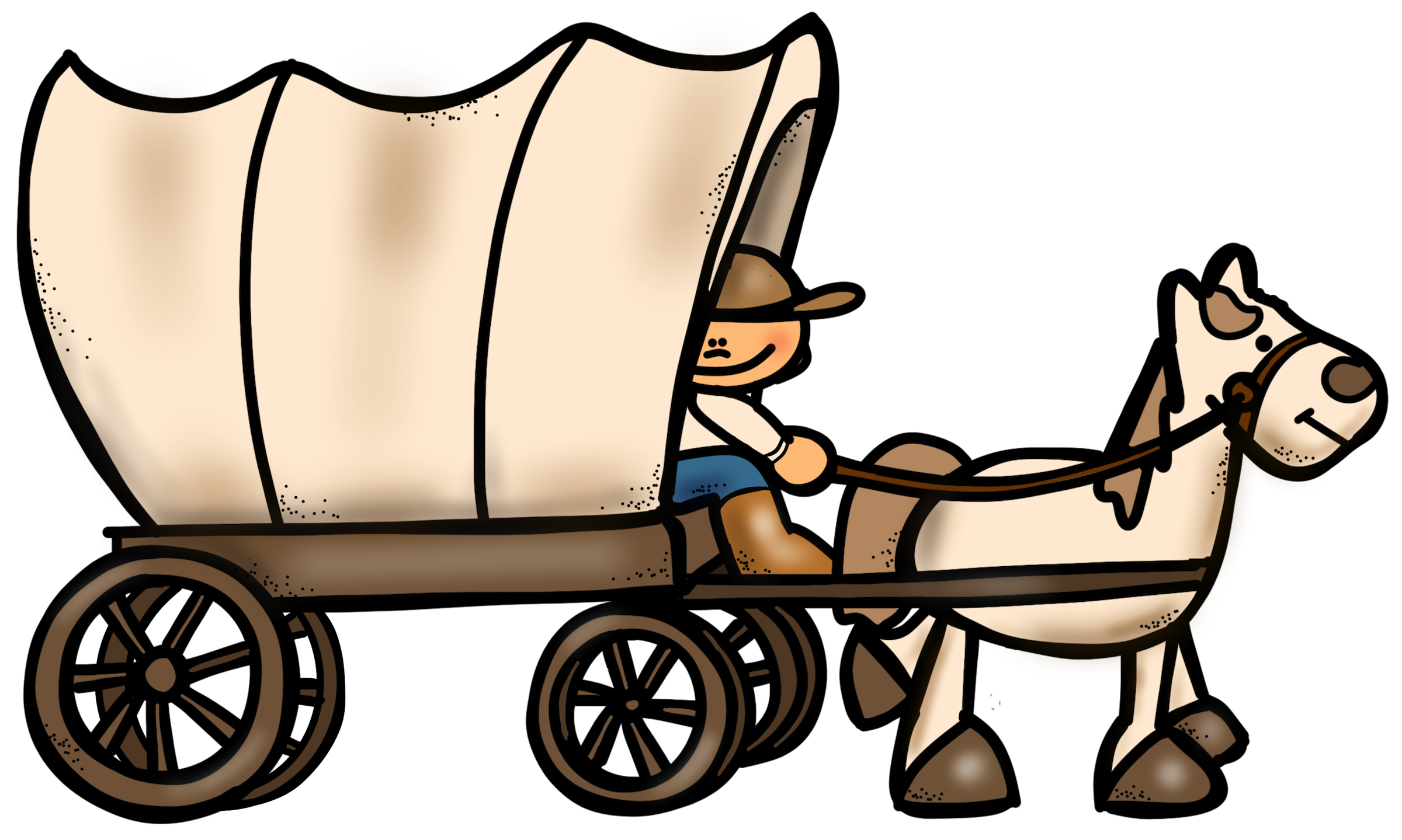 Wagon clipart westward movement. Cliparts free download best