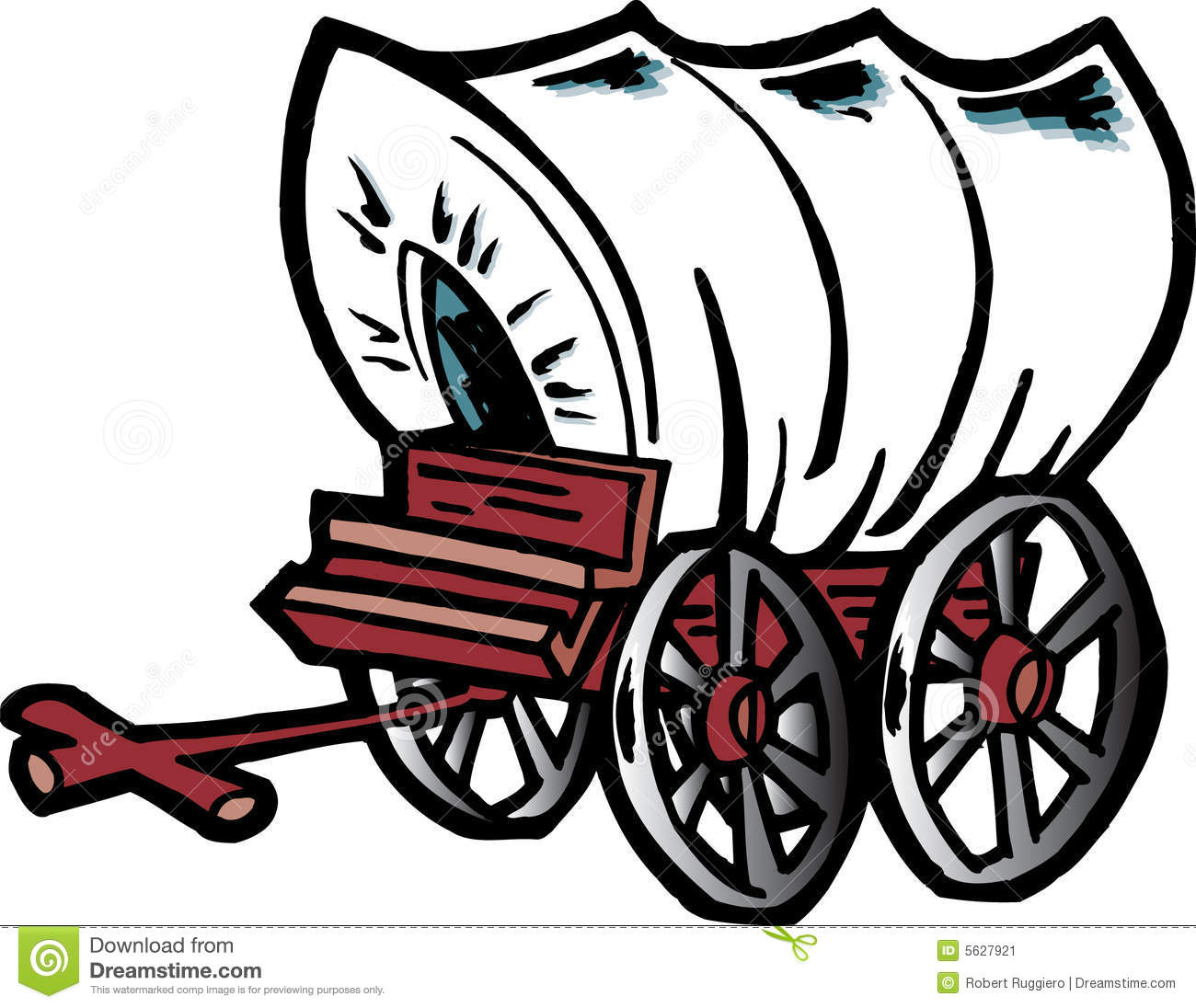 Wagon clipart history. Pioneer drawing free download