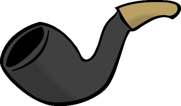 Smoke clip art at. Pipe clipart small