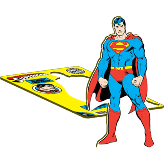 Party supplies and decorations. Pipe clipart superman