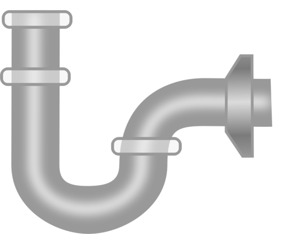 Pipe angle plumbing fixture. Plumber clipart sewage