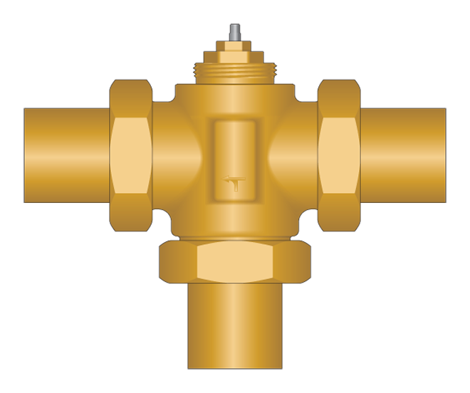 compact way mixing. Pipe clipart valve