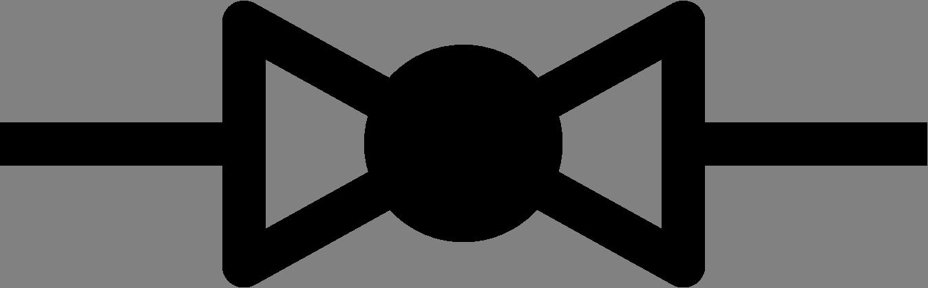 Pipe clipart valve. Symbols flow control norway