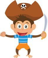 Pirates clipart. Free clip art pictures