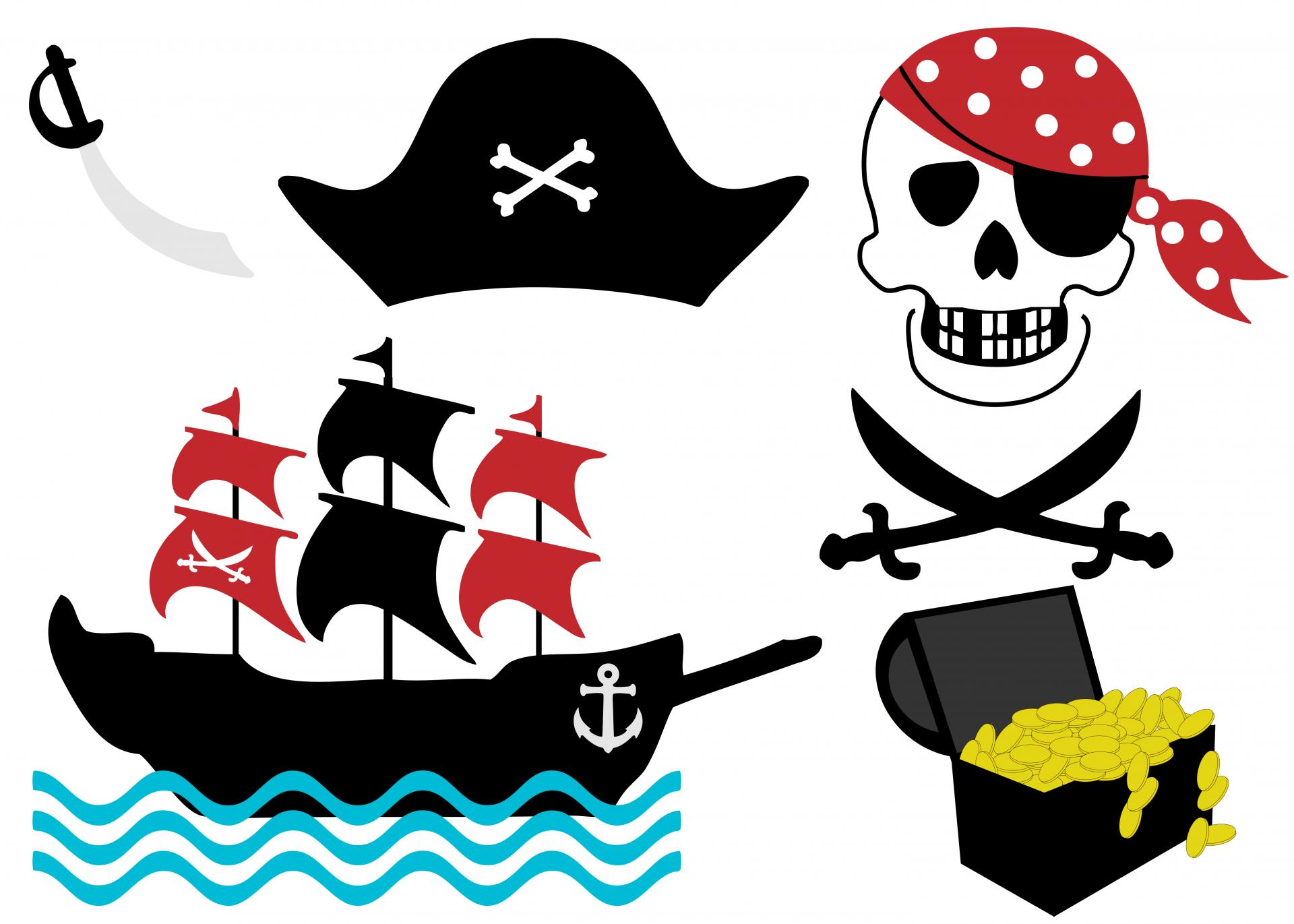 Pirate clipart. Clip art free stock