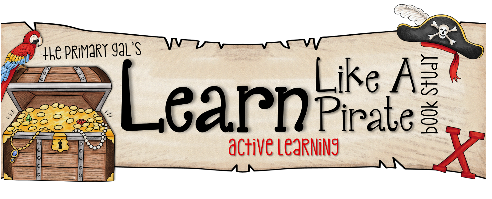 Pirate clipart banner. Live laugh love second