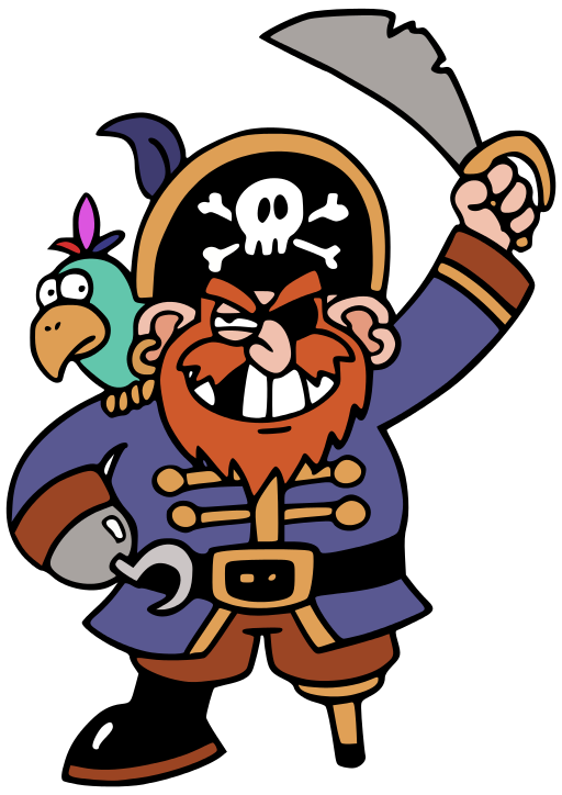 The pirate mythos a. Pirates clipart cook