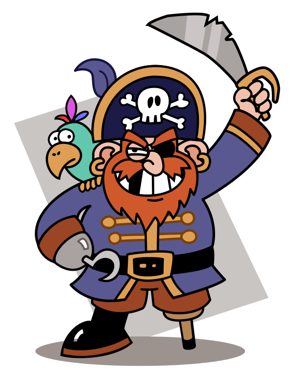 Pirate clipart couple. Collection of free carping